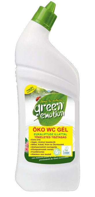 GREEN EMOTION ÖKO WC Gél Eukaliptusz illattal 750 ml